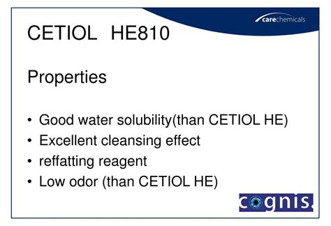 Clear Change Detox Powerpoint by Ppt Cetiol He He810 Peg Glyceryl Ester Powerpoint