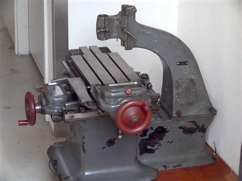 Fidus Swiss Jig Borer Watchmaker Vertical Mill Niels