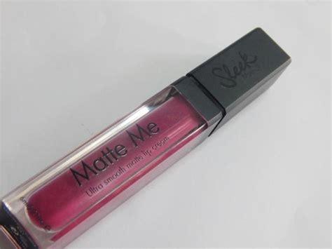 Diskon Sleek Matte Me Fandango Purple sleek makeup fandango purple matte me ultra smooth matte lip review