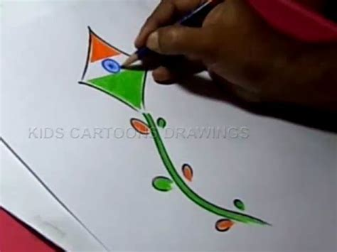 drawing themes for independence day how to draw independence day easy greeting step by step