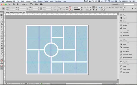 How To Create A Mood Board In Indesign 187 The Makers Collective Indesign Photo Grid Template