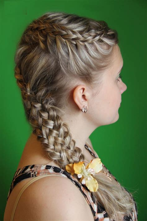 hair styles braided from the top of the head top 10 flower girl hair style style samba
