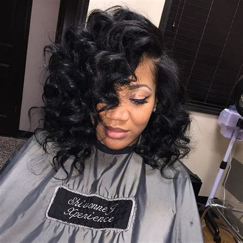 how to cut curly weave into a bob 84 best flawless hair bob weave images on pinterest