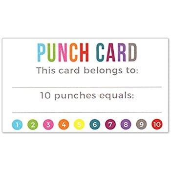 free lunch punch card template fundraising ideas that will knock your socks