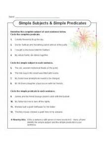 best 25 simple subject and predicate ideas on pinterest