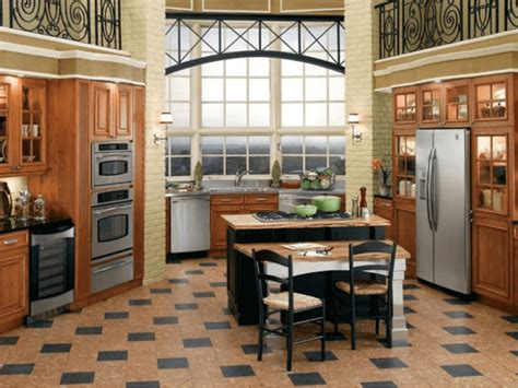 Traditional Kitchen Floor Tiles by Cork Floors 21 Awesome Design Ideas For Every Room Of
