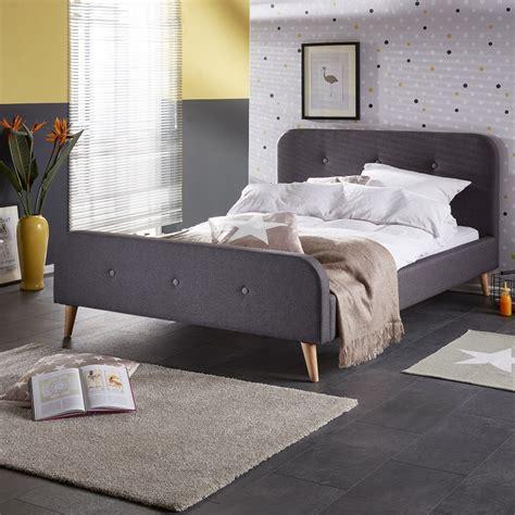 bett grau bett ringsted 140x200 grau betten schlafzimmer