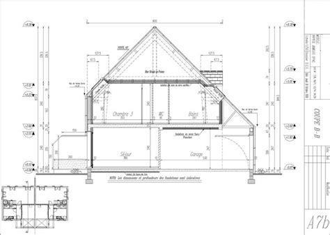 Plan De Coupe De Maison 2196 by Plan Maison En Coupe