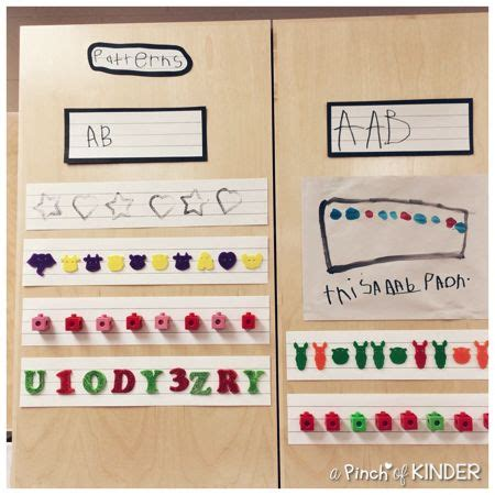 kindergarten pattern unit 132 best images about patterns unit on pinterest