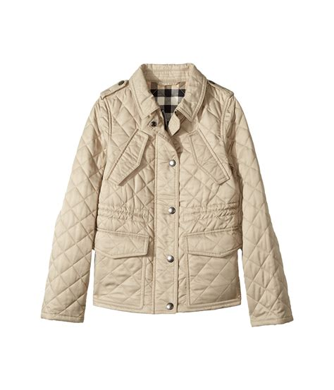 Burberry Childrens Quilted Jacket by Burberry Neals Quilted Jacket Big