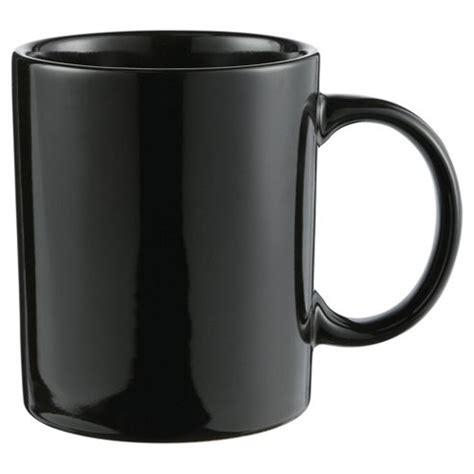 Plain Mug buy tesco black plain stoneware mug single from our mugs