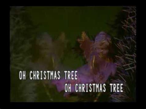 christmas karaoke song oh christmas tree youtube