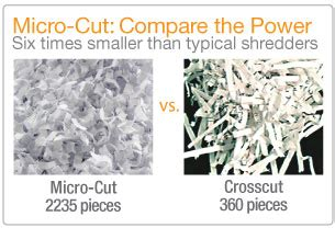 shredder cut types buying a paper shredder for your home office