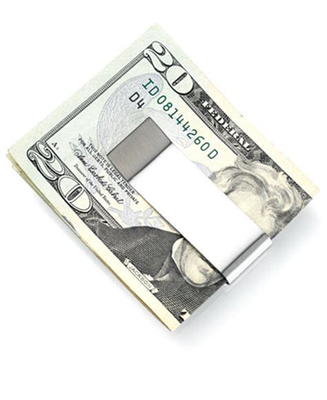 Add Money To Macy S Gift Card - kenneth cole reaction money clip double your money stainless steel accessories