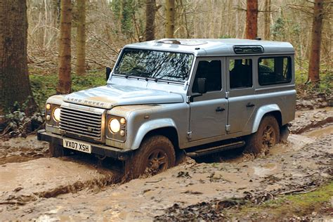 land rover defender pictures auto express