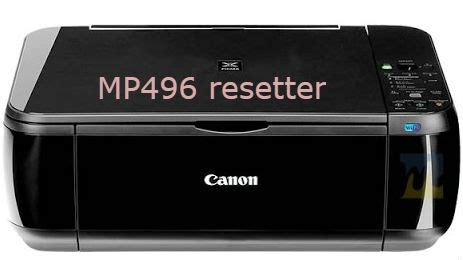 reset printer counter canon how to reset canon mp496 resetter free step by step guide