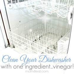 How To Clean My Dishwasher With Vinegar Get A Clean Dishwasher With Vinegar 4 Real