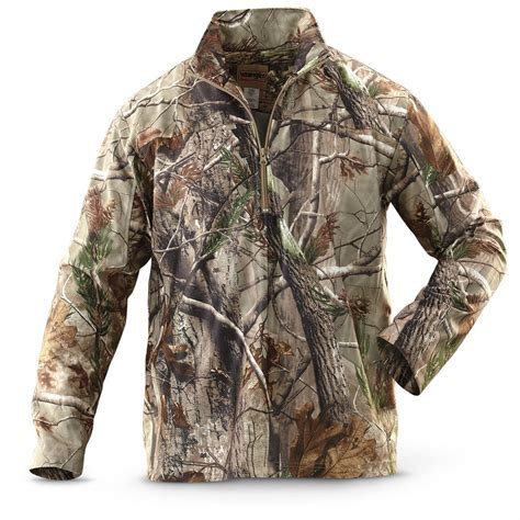 tall wrangler 174 1 4 zip jacket realtree 174 all purpose