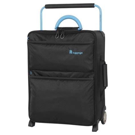 lightest cabin suitcase it worlds lightest light trolley suitcase black small