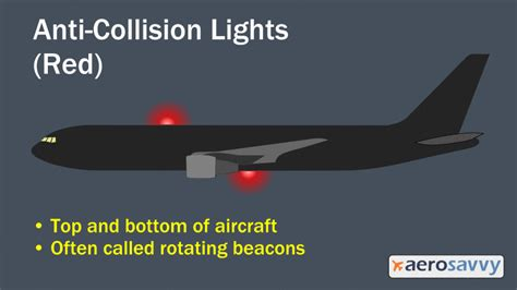 aircraft anti collision lights savvy passenger guide to airplane lights aerosavvy