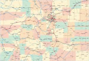 map of colorado counties cities state map map of usa