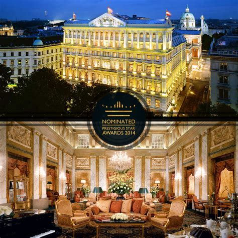 hotel imperial vienna prestigious star awards global