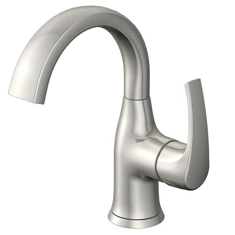 jacuzzi bathtub faucets shop jacuzzi lyndsay brushed nickel 1 handle single hole