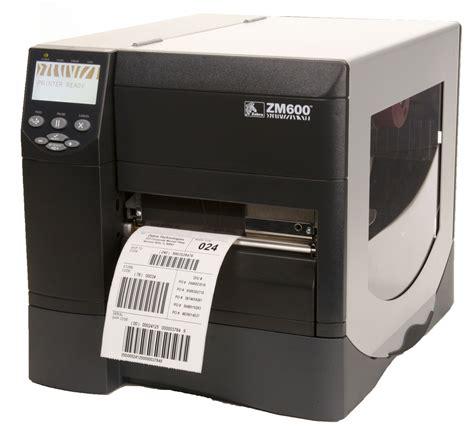 Printer Label Zebra Zm600 Industrial Thermal Transfer Label Printer Am Labels