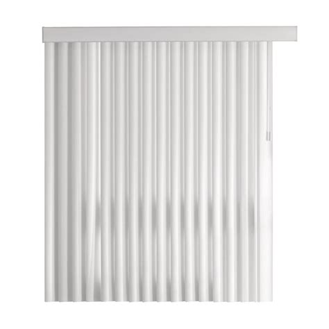 l shade parts home depot home decorators collection white 4 5 in pvc vertical