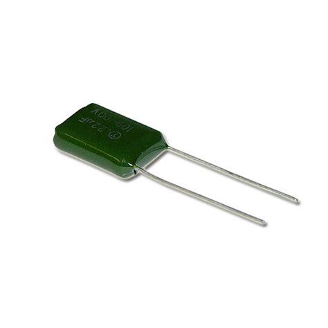 capacitor 22uf 100v 92 100 224k byab capacitor 0 22uf 100v polyester radial 2020001073