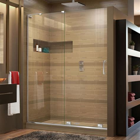48 inch shower doors dreamline mirage x 44 in to 48 in x 72 in semi