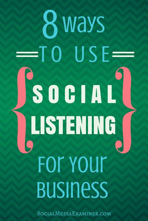 8 Ways To Spark His Interest On A Date by 8 Ways To Use Social Listening For Your Business Social