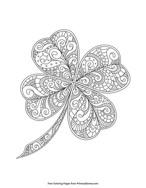 clover mandala coloring page 3537 best pergamano images on pinterest mandalas