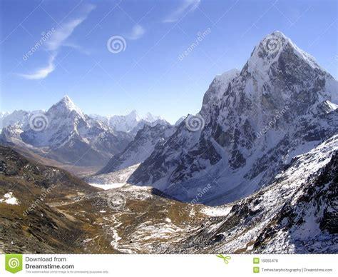 himalayan l montagnes de l himalaya image libre de droits image