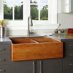 Wooden Kitchen Sink Wooden Farm House Sink For Washing Dish Comfly Farm House Sink Speedchicblog
