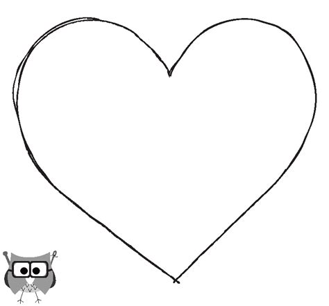heart templates clipart best