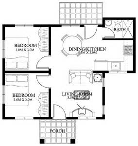 Floor Plan For Small House Free Small Home Floor Plans Small House Designs Shd 2012003 Eplans Modern House