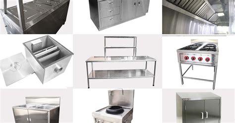 Peralatan Dapur Restorant Bahan Stainless