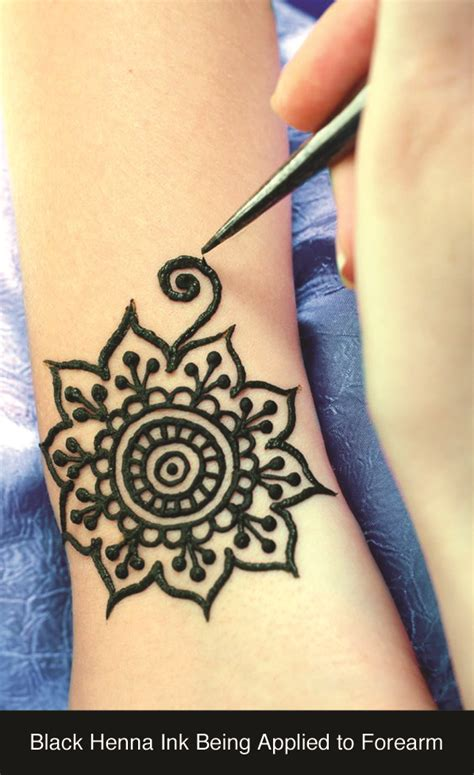 black henna tattoo artist water transfer henna temporary tattoos are safe