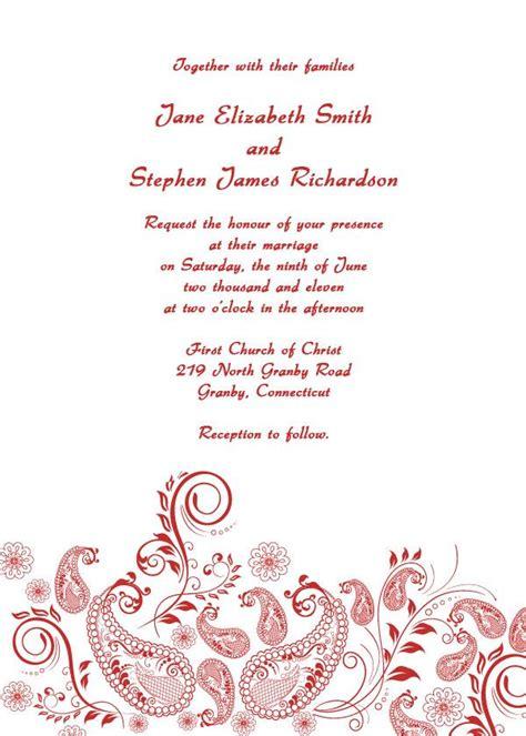 25 best ideas about wedding invitation templates on diy wedding invitations