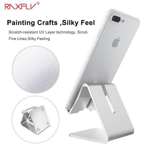 iphone stand for desk aliexpress com buy raxfly universal aluminum
