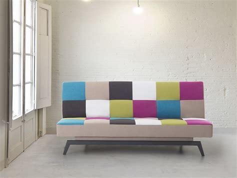 Stylische Sofas 365 by Sofa Schlafsofa Patchwork Bettsofa