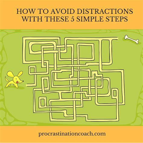 the simple 5 step plan to avoid distractions