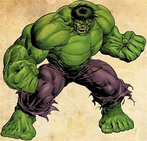hulk marvel comics bruce banner iconic version