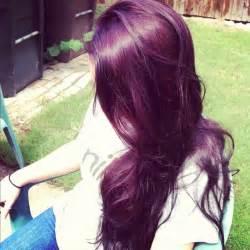 plum color hair plum hair pretty things
