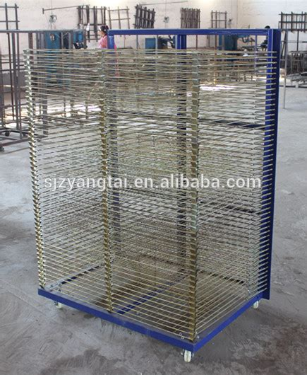 Screen Printing Rack by Galvanized Screen Printing Drying Racks Galvanized Drying