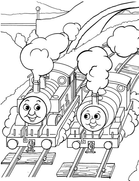 Thomas The Tank Engine Coloring Pages 9 Coloring Kids The Tank Engine Colouring Page
