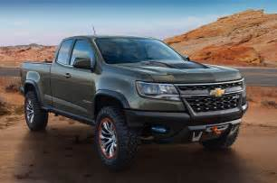 2015 chevrolet colorado zr2 concept rear side view photo 10