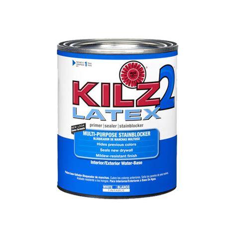 kilz 2 low voc primer 1 qt other home improvement walmart