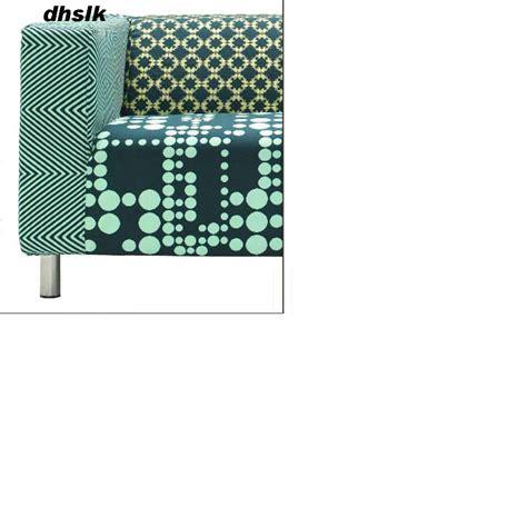 Klippan Cover by Klippan Loveseat Sofa Slipcover Cover Karrum Green Retro